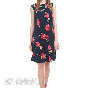 czerwone sukienki moda sukienka tahira