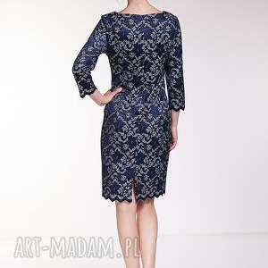 moda sukienki niebieskie sukienka emiliana