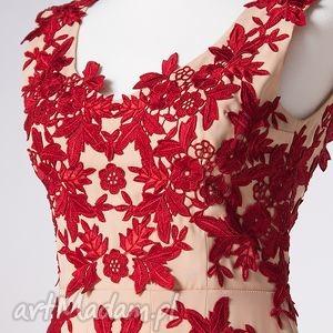 haft sukienki henriette - suknia