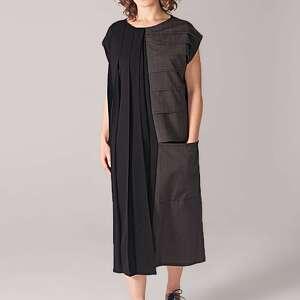 sukienki plisowana industrialna sukienka tuba