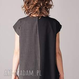 unikatowe sukienki plisowana industrialna sukienka tuba