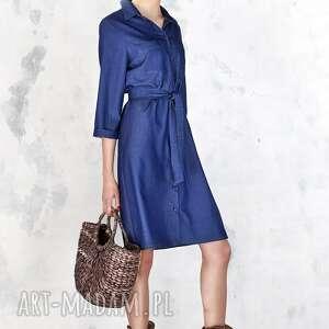 sukienki sukienka jeansowa szmizjerka