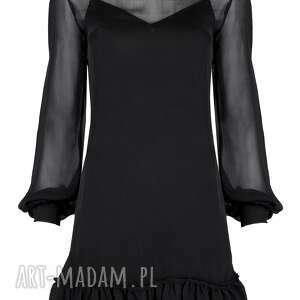 sukienki sukienka czarna kallisto - klasyczna
