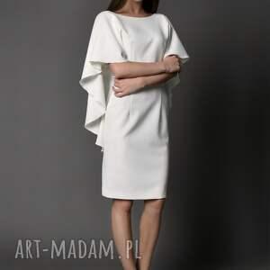 sukienki dekolt koktajlowa sukienka z głębokim