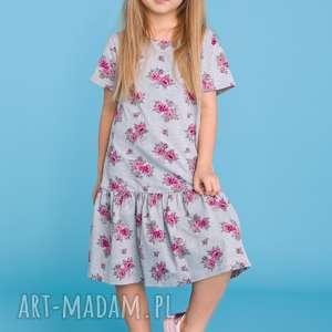 urokliwe sukienki sukienka komplet dla mamy i córki -