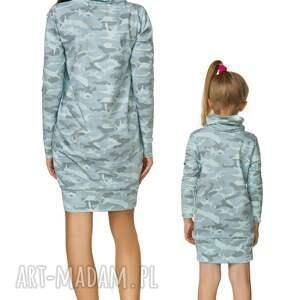 hand-made sukienki sukienka komplet dla mamy i córki -