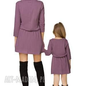 handmade sukienki sukienka komplet dla mamy i córki -