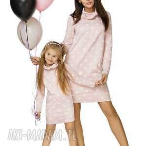 niepowtarzalne sukienki sukienka komplet dla mamy i córki -