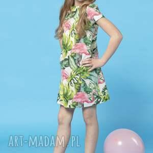 efektowne sukienki komplet prostych sukienek na lato