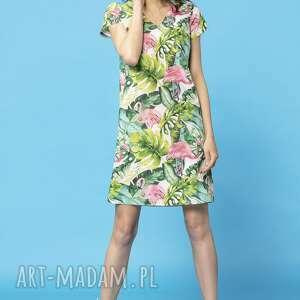 sukienki sukienek komplet prostych na lato