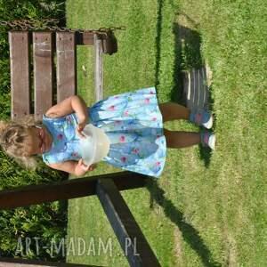 ciekawe sukienki dzianina komplet sukienek zuza dla mamy