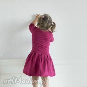 bordo sukienki czerwone komplet sukienek olivia 3 kolory!