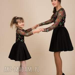 ręcznie zrobione sukienki haft komplet sukienek emily 2