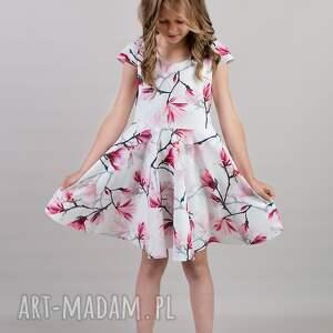 białe sukienki mamaicórka komplet sukienek magnolia