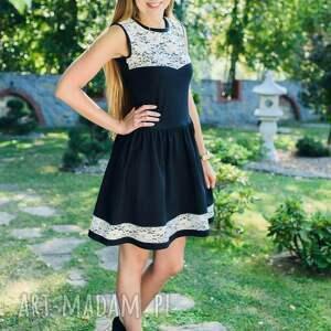 czarne sukienki komplet sukienek bella black- dla