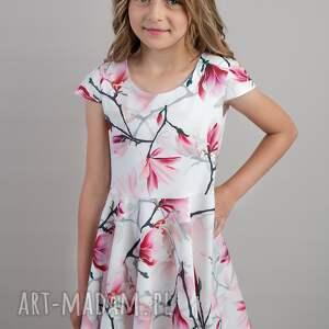 sukienkarozkloszowan sukienki komplet sukienek magnolia