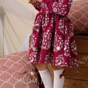pomysł na upominki święta mamaicórka komplet świątecznych sukienek dla