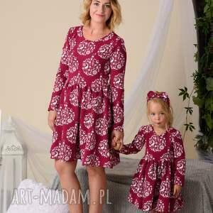 pomysł na upominki święta komplet świątecznych sukienek dla