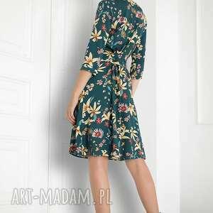 sukienki sukienka kopertowa midi