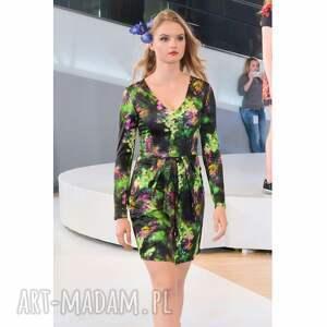 sukienki zielone kraina czarów - sukienka