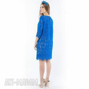 sukienka sukienki królowa lodu - koronkowa