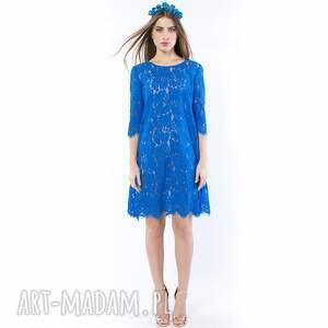 sukienki sukienka królowa lodu - koronkowa