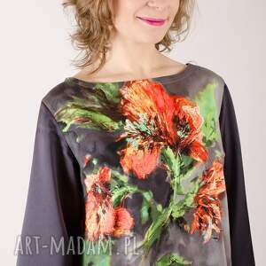 falbanka sukienki sukienka wykonana z tkaniny bawełnianej z lycrą