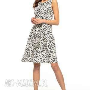 urokliwe sukienki letnia sukienka wiązana, t281