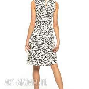 białe sukienki letnia sukienka wiązana, t281