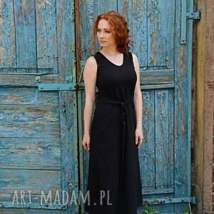 ciekawe sukienki bawełniana luźna romantyczna sukienka