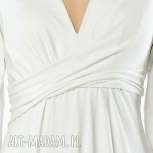 Magdalena Maxi White - ślubna biala