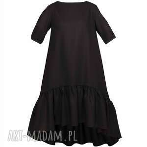 sukienki mała czarna wełniana sukienka