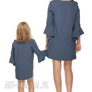 sukienki falbanka mama i córka sukienka dla mamy