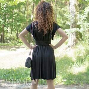 sukienki wygodna megi - mała czarna sukienka