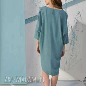 ręcznie wykonane sukienki wizytowa mossa