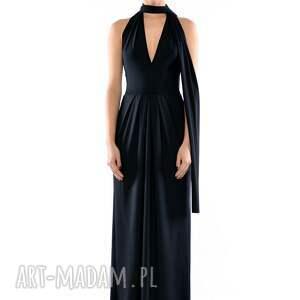 ręczne wykonanie sukienki długa multistylizacyjna suknia - creative