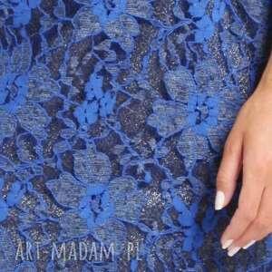 modne sukienki ramona - sukienka chabrowa 38