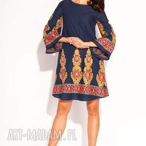 pomarańczowe sukienki sukienka orsi
