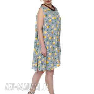 sukienki polska marka orzeźwiające cytryny, uniwersalna