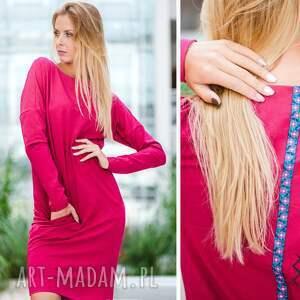 handmade sukienki sukienka overlong | dresowa