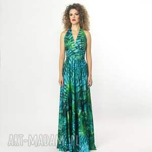trendy sukienki długa paloma - letnia suknia