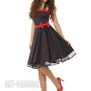 sukienka pin up sukienki piękna rozkloszowana pin