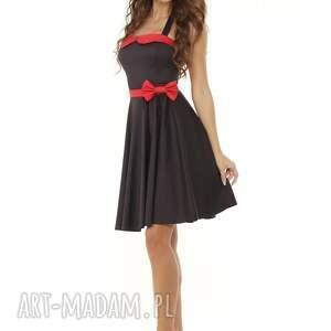 sukienki sukienka pin up piękna rozkloszowana w stylu pin