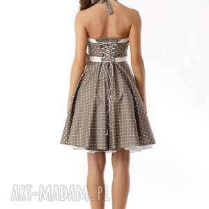 unikalne sukienki sukienka-pin-up piękna rozkloszowana sukienka
