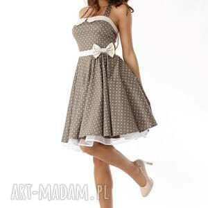 sukienki sukienka-pin-up piękna rozkloszowana sukienka