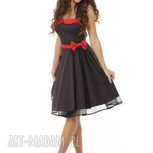 909687526c handmade sukienki piękna rozkloszowana sukienka pin up czarna. sukienki  sukienka retro piękna rozkloszowana pin
