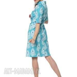 De La Fotta unikatowe sukienki elegancka piękna sukienka kostiumowa, bawełna