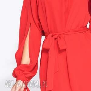 kokardy sukienki piękna sukienka wizytowa