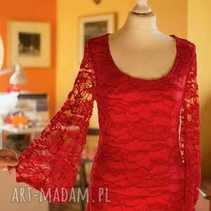 wieczorowa sukienki red dress
