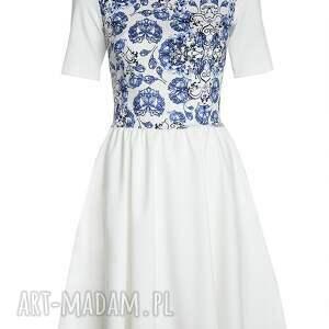 porcalanowa sukienki porcelanowa sukienka ecru